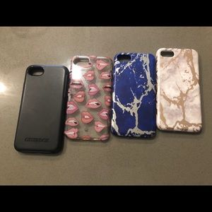 Accessories - Lot of IPhone 7/8 cases